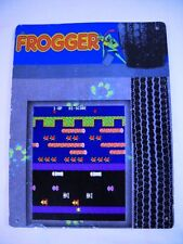 "USED TIN SIGN ""Frogger""Arcade Console Game Room WallMetal Decor"