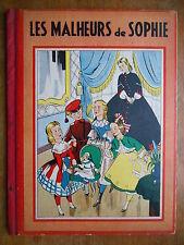 """Livre """"Les malheurs de Sophie"""" Gründ 1941"""