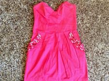 LIPSY. Ladies. PINK JEWELLED POCKET DRESS