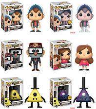 Funko POP! Disney ~ GRAVITY FALLS 6-FIGURE SET ~ CHASE DIPPER, CHASE BILL++++