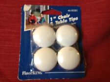 Vintage New Stock Floor King 1 inch Chair and Table Tips