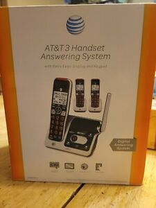 AT&T CRL82312 3-Handset Expandable Cordless Phone with Answering System, Home