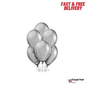 "10"" Latex Silver Balloons Celebration Ballons Party Decoration Baloons Birthday"