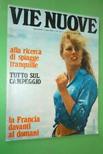 Voies Neuf 1968 Manya Golec + France Domani + Tragédie Via Vallarsa Roma +