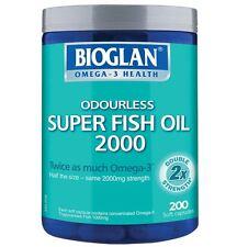 Bioglan Super Fish Oil 2000mg 200 Capsules