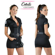 Cottelli Collection Dress Super Sexy Poliziotta Hot Costume Cosplay Policeman