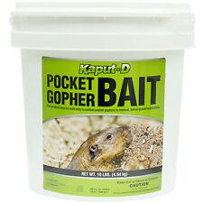 Gopher Bait Kaput-D Pocket Gopher Killer 10 Lbs Diphacinone - NOT FOR CALIFORNIA