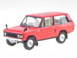 Land Rover Range Rover 1 1969 red diecast modelcar IXOCLC179 IXO 1:43