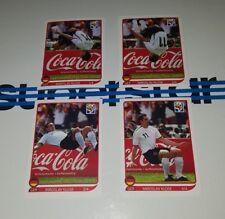 Panini WM 2010 Klose Salto komplett Coca Cola Torjubel Sticker WC 10 1 bis 4 e