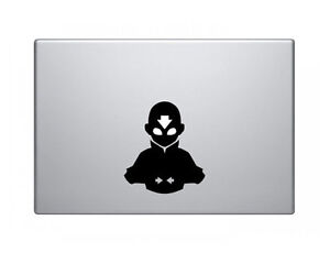 "Avatar Aang Airbender Decal Sticker Skin for MacBook Pro Air Mac 13""15"""
