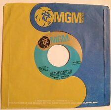 Billy Walker 45 I'm Gonna Keep On Lovin' You / It's A Long Way Down From Riches