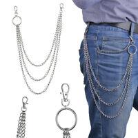 Key Chains Clip Pants KeyChain Biker Link  Hip Hop Jewelry Wallet Chain Belt