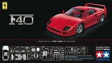Tamiya 24295 1/24 Scale Model Sport Car Kit Ferrari F40 Coupe Berlinetta