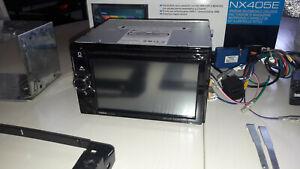 Autoradio Clarion NX405E DVD-Radio mit Navigation - Schwarz