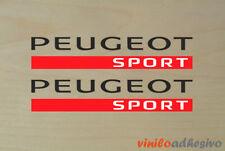 PEGATINA STICKER VINILO Peugeot sport ref2 autocollant aufkleber adesivi