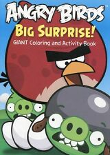 Rovio Angry Birds Big Surprise Coloring and Activity Book for Children