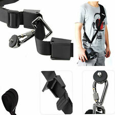 Black Camera Shoulder Neck Strap Belt Sling for Canon Nikon Sony DSLR