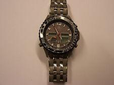 Gebrauchte QGS-11139-55M Quality Time Funk-Solar Uhr mit Chronograph