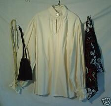 Medieval/ Pirate Full Muslin Shirt with Accessories - S!