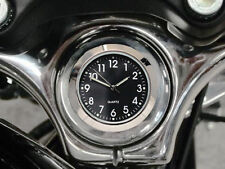 New British Made Harley Sportster / Dyna / FXR Billet Stem Nut Clock