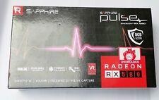 Sapphire Pulse Radeon RX 580 8GB GDDR5 OC Dual HDMI DVI-D Dual DP EGPU OSX MAC11
