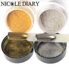 10g/box Gold/Silver Mirror Nail Glitter Powder Gorgeous Nail Art Chrome Pigment