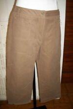 Pantalon court pantacourt SAINT JAMES Melissa T.4 42/44 coton marron épais p10