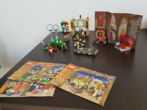 Lego Harry Potter Konvolut, Nr. 4733, 4722, 4726, 4701 gebraucht