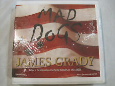 Mad Dogs by James Grady~NEW~Spies Mystery~CD Unabridged Audiobook~LBDVX