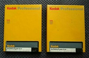 Kodak TECHNICAL PAN 4x5 in. 25pcs box black and white sheet film TP 4415