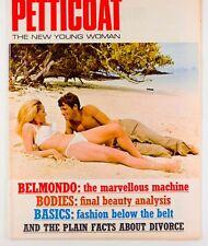 URSULA ANDRESS Jean Paul Belmondo HAYWARD MORSE Billy Apple PETTICOAT Magazine