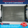 RADIATOR TO FIT VAUXHALL CORSA D 2006 TO 2014 1.0 1.2 1.4 PETROL LPG