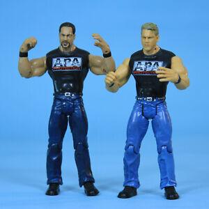 APA JBL Bradshaw Ron Simmons WWE Ruthless Aggression Adrenaline Tag Figure Set