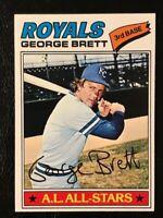 1977 Topps George Brett #580 Kansas City Royals **PACK FRESH**MINT**