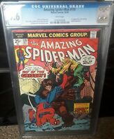 The Amazing Spider-Man 139 CGC 9.6, 1st Appearance of the Grizzly 1974!