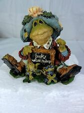 "Boyds Bears Folkstone "" Ms Lilypond Lesson Number One "" Figurine In Box"