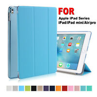 For iPad 7th 10.2 9.7 Air 10.5 2019 Smart Slim Magnetic Case Leather Stand Cover