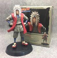 Anime Naruto Shippuden Jiraiya Gama Sennin Action Figure Collection Model Toy