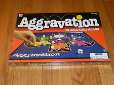 1999 Milton Bradley Aggravation Game - NEW Sealed Classic Marble Race Game