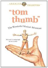TOM THUMB (1958 Russ Tamblyn) Official warner archive  Region Free DVD - Sealed
