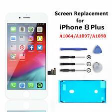 For iPhone 8 Plus White Genuine Original OEM IC Screen Replacement LCD Digitizer