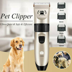 Professional Pet Clippers Cordless Dog Clipper Hair Shaver Grooming Trimmer Kit