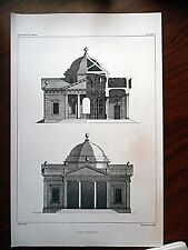 architectural drawing lithograph by Andrew Graham Vol 5