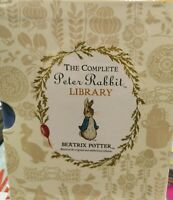The Complete Peter Rabbit Library- 23 Hardcover Book Box Set Beatrix Potter