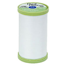 S960-0100~COATS & CLARK COTTON WRAPPED POLY HAND QUILTING THREAD~WHITE~325 YDS