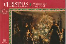 30 Christmas Postcard Book by Pavilion Books , Vintage Christmas Scenes....