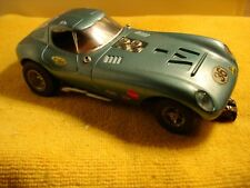 Vintage COX Bill Thomas Cheetah in light blue slot car 1/24 offered by MTH