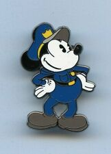 Disney Classic Vintage Mickey Mouse Security Officer Police Policeman Pin