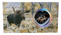 """Love Pearl Creations Moose Necklace Jewelry Kit with 16"""" Stainless Steel Chain"""