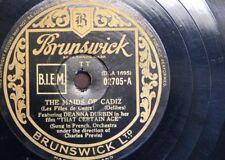 78 rpm DEANNA DURBIN the maids of cadiz / my own